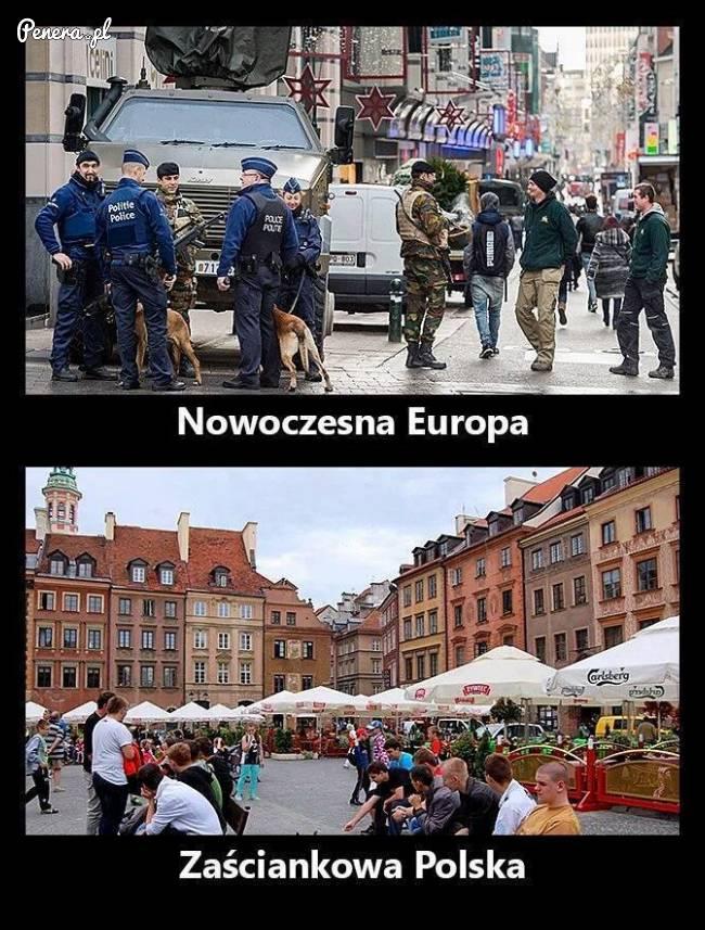 Nowoczesna Europa kontra zaściankowa Polska