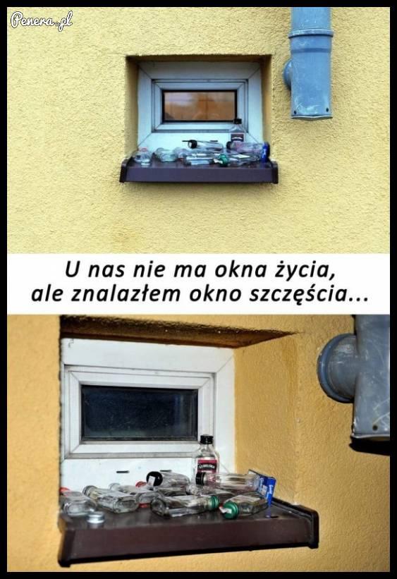 Pierwsze w Polsce okno szczęścia
