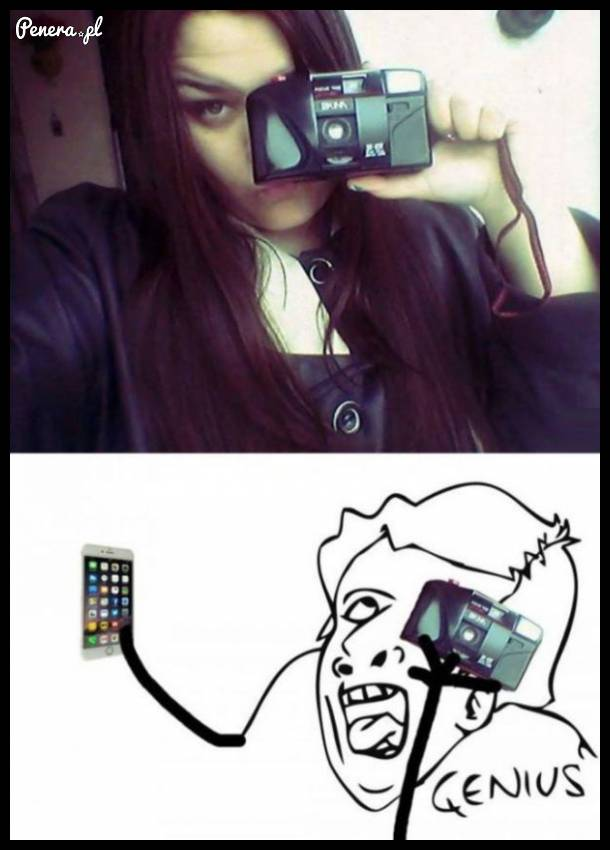 Tak właśnie widzę robienie tego zdjęcia!
