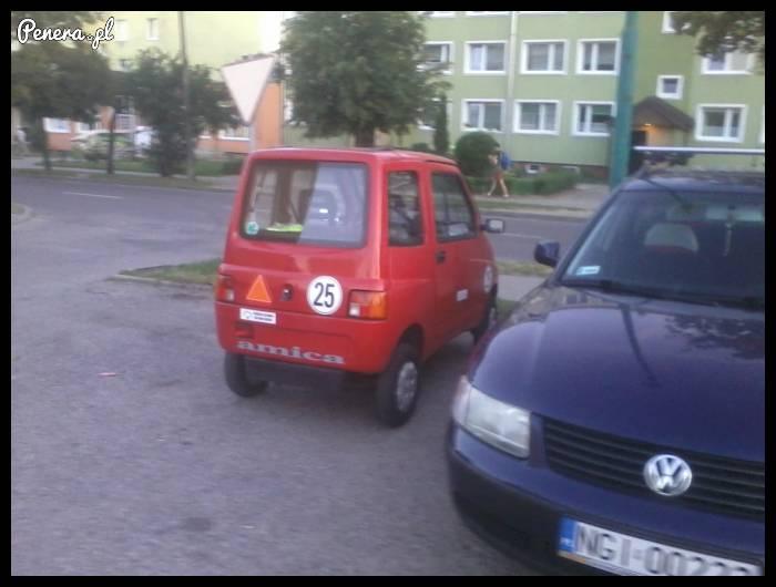 Takie auto spotkane na parkingu
