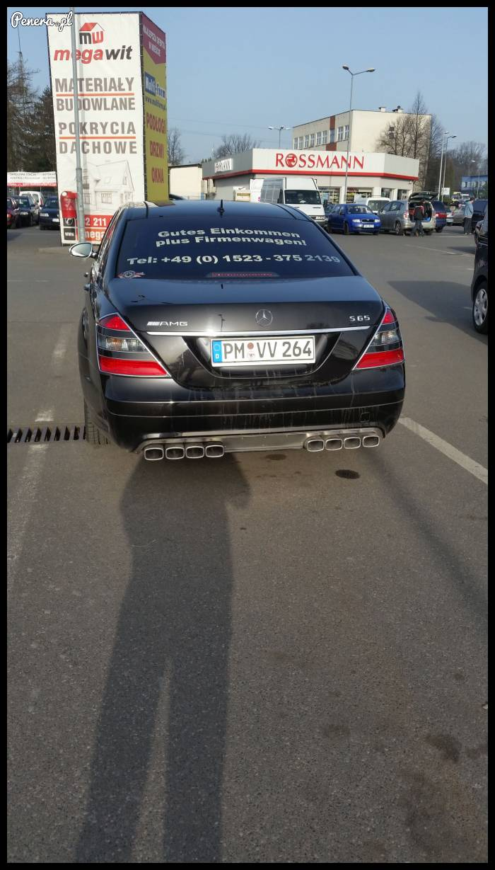 Agrotuning Mercedesa S-class w niemieckim wykonaniu