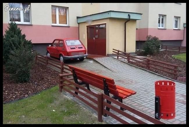 Maluchem to wszędzie zaparkujesz!