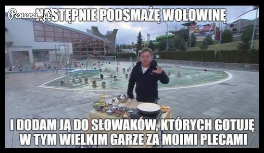 Słowacy z wołowiną