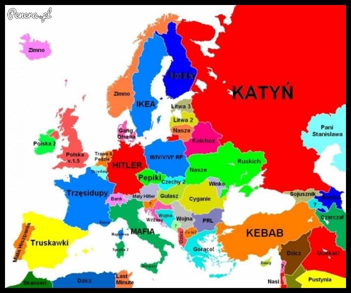Z czym kojarzą się Polakom inne kraje