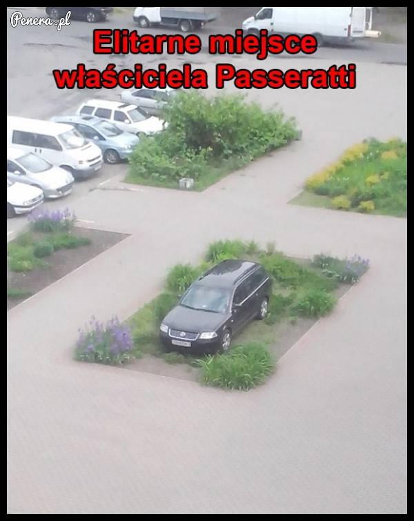 Elitarne wejście właściciela Passeratti