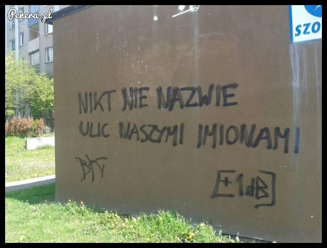 Graffiti przegrywa