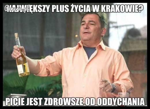 Największy plus życia w Krakowie?
