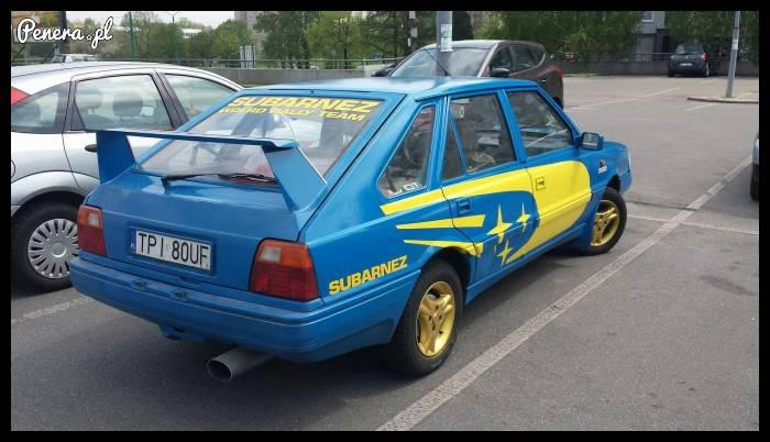 Polonez prawie jak Subaru