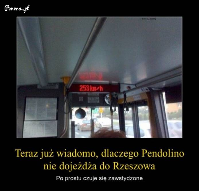 Teraz już wiadomo dlaczego Pendolino nie dojeżdża do Rzeszowa