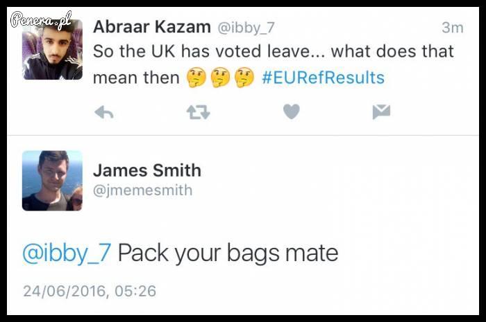 Co teraz skoro UK wychodzi z UE