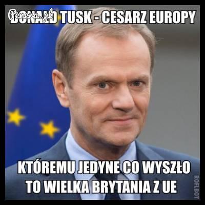 Donald Tusk - cesarz Europy