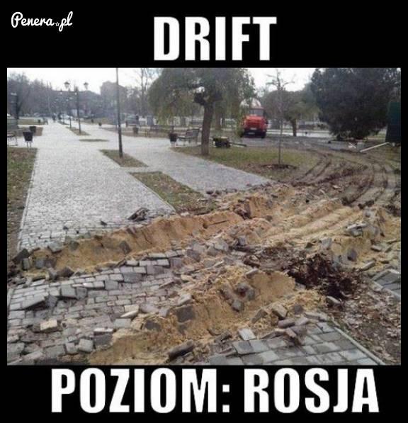 Drift poziom Rosja!
