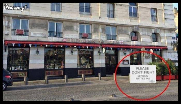 Francuski sposób na unikanie walk w mieście