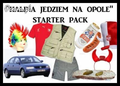 Halina jedziemy na Opole! - Starter Pack