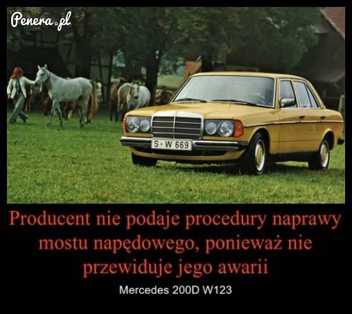 Kiedyś to były Mercedesy