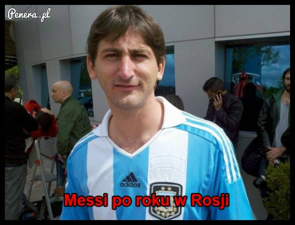 Messi po roku w Rosji