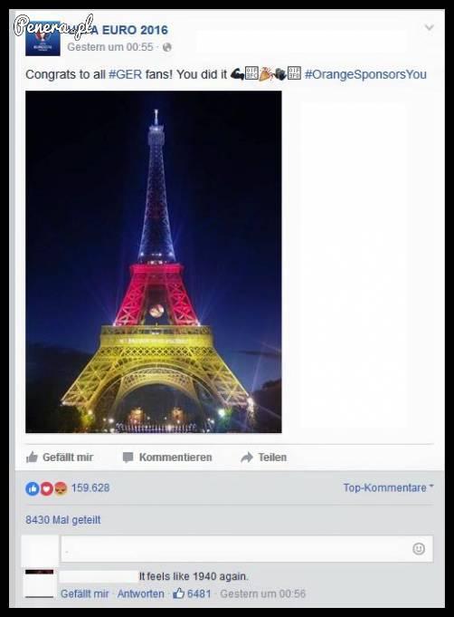 Poczuł się w Paryżu tak jakby to był 1940