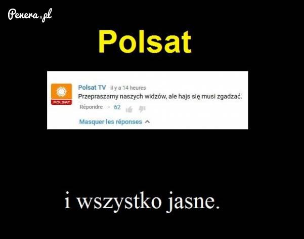 Polsat - i wszystko jasne