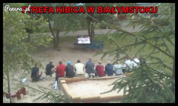 Strefa kibica w Białymstoku!