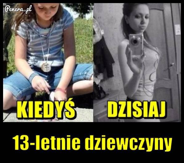 13-latki kiedyś i dzisiaj