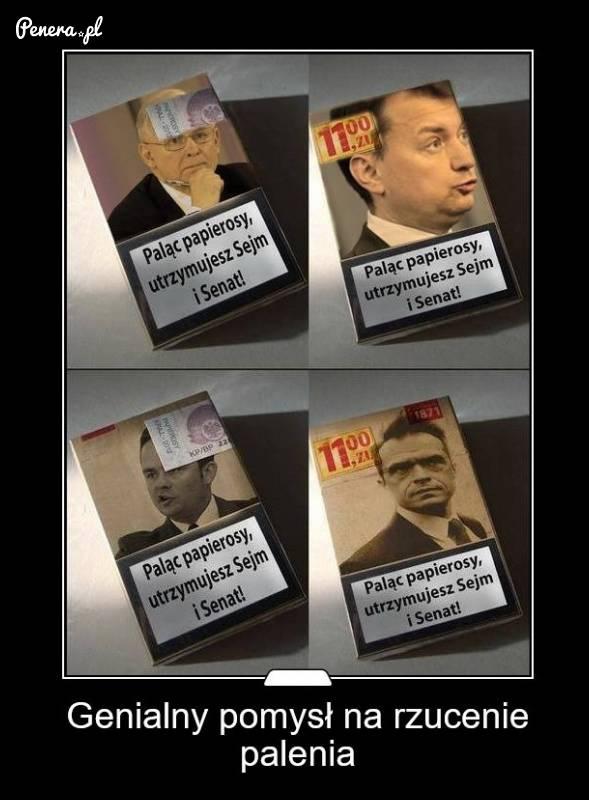 Genialny sposób na rzucenie palenia!