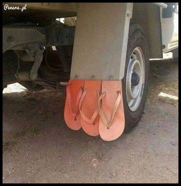 Kierowca ciężarówki zawsze sobie jakoś poradzi