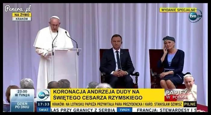 Koronacja Andrzeja Dudy na świętego cesarza rzymskiego