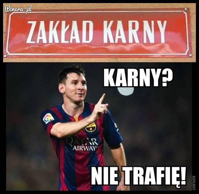 Messi - Zakład karny