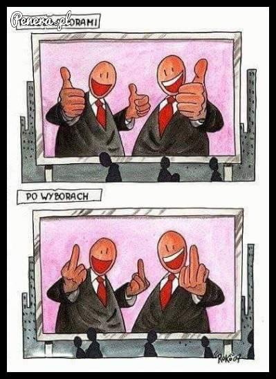 Politycy przed wyborami