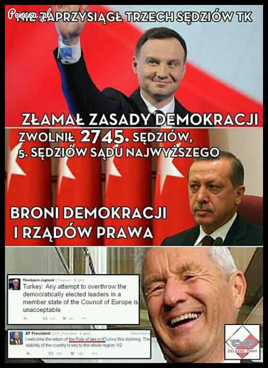 Tak właśnie wygląda demokracja we współczesnym świecie