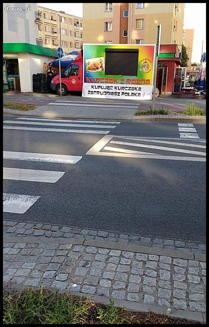 Takiego hasła reklamowego to jeszcze nie widziałem