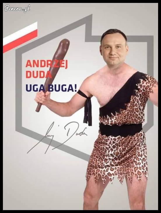 Andrzej Duda - uga buga