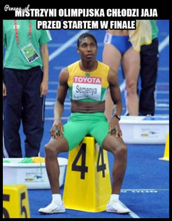 ONA wygrała bieg na 800 metrów KOBIET