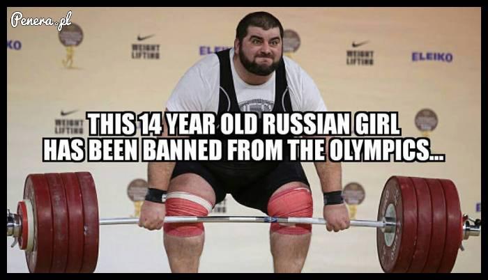 Ta 14-letnia rosyjska dziewczyna