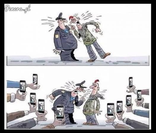 Policjanci nie mają teraz łatwo