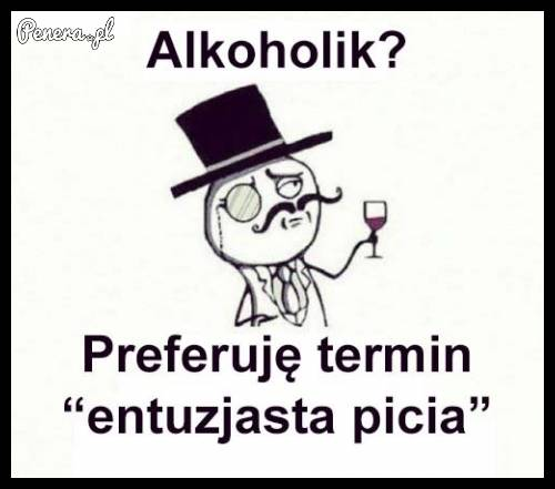 Alkoholik?