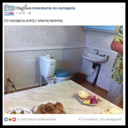 Do wynajęcia pokój z własną łazienką