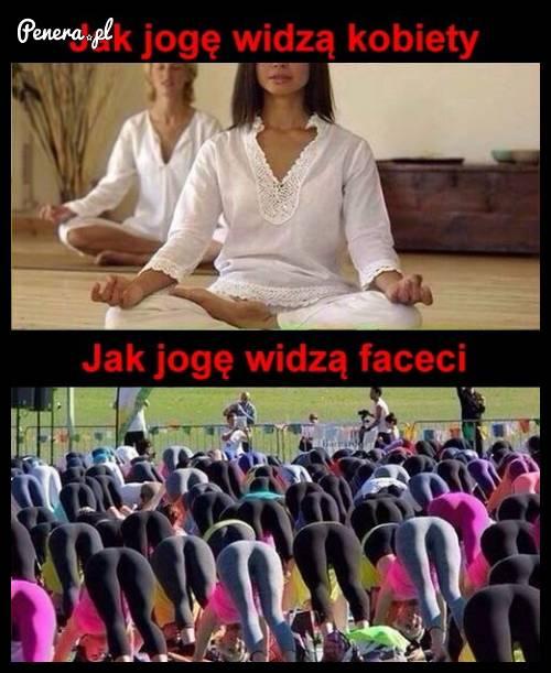 Jak jogę widzą kobiety