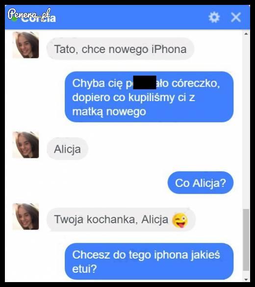 Jak przekonać tatusia do nowego telefonu