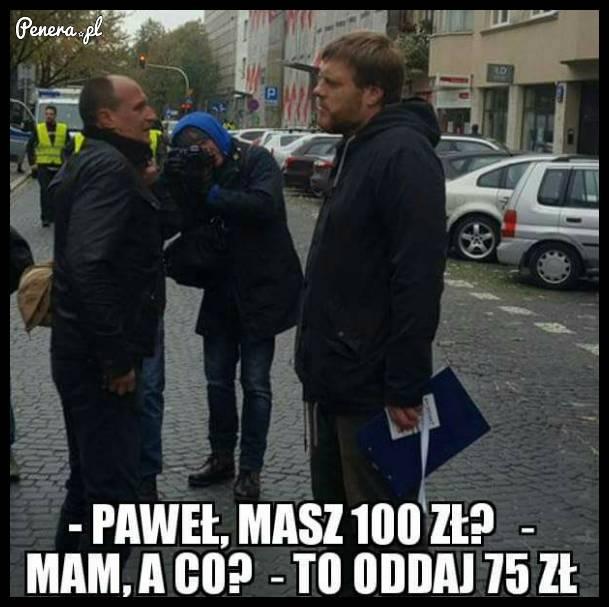 Podatek 75zł - Parta Razem :D