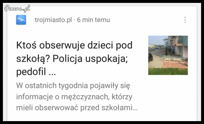 Policja uspokaja to tylko...