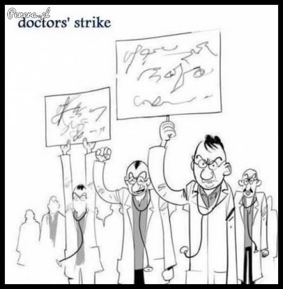 Strajki lekarzy takie są