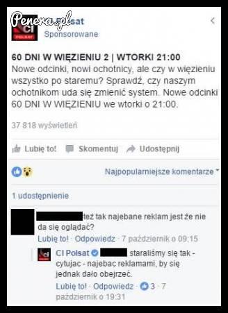 Tym razem Polsat zaorał na swoim fp