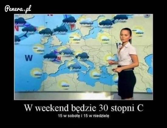 W weekend będzie 30 stopni C