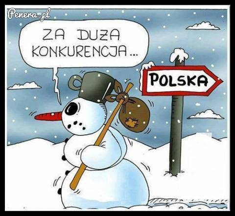 Dla niego w Polsce jest za duża konkurencja