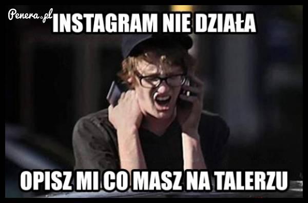 Gdy instagram padnie