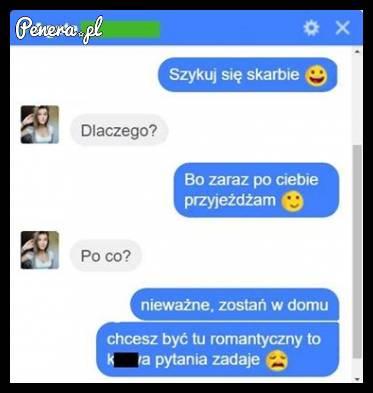Kiedy chcesz być romantyczny