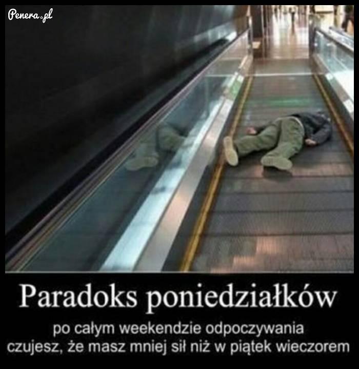 Paradoks poniedziałków