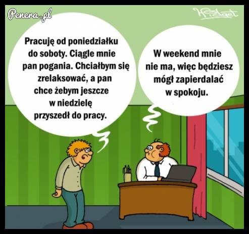 Weekend w korpo