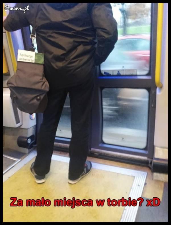 Za miało miejsca w torbie?